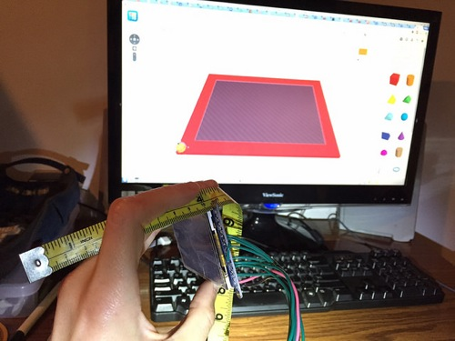 TinkerCAD and the Display